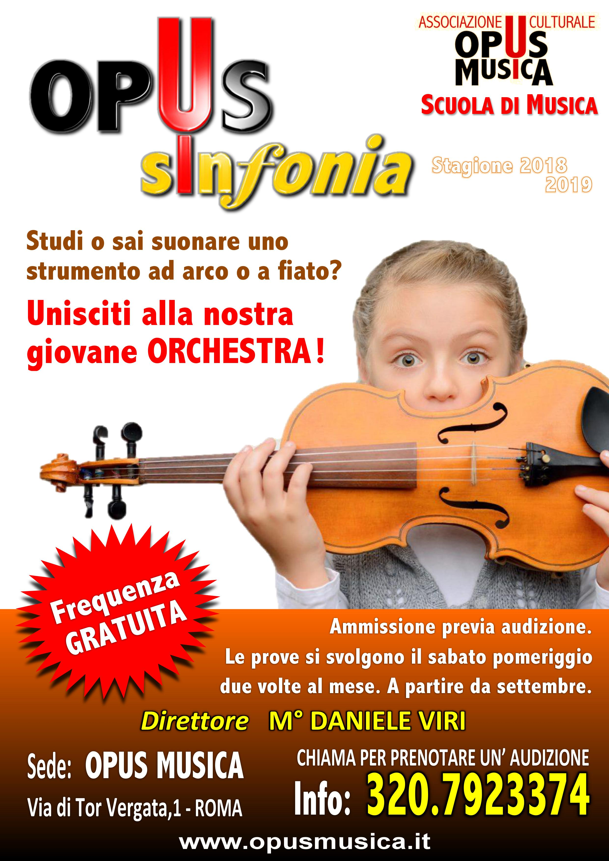 Opus Sinfonia 2018-19